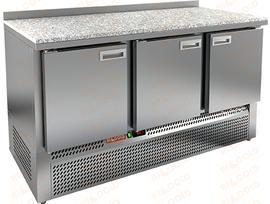 Купить стол охлаждаемый Hicold gne 111/tn камень в Самаре